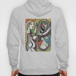 Pablo Picasso - Girl Before Mirror 1932 - Artwork for Prints Posters Tshirts Men Women and Kids Hoody