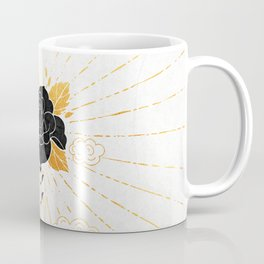 Black Rose Inktober :: Your Psyche Coffee Mug