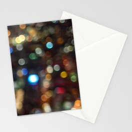 Skytower Bokeh Stationery Cards