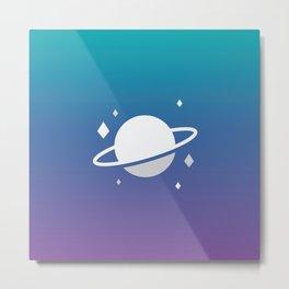 Planetary III Metal Print