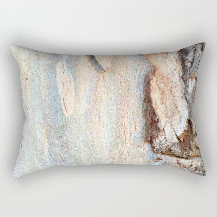 Eucalyptus tree bark and wood Rectangular Pillow