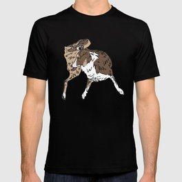 Dog Lover (Brown, White, & Tan Australian Shepherd) T-shirt