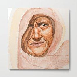 All women are beautiful watercolor Painting Metal Print