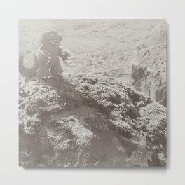 Godzilla vintage photo. Metal Print