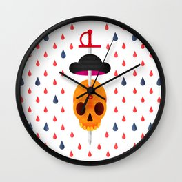Bull's revenge Wall Clock