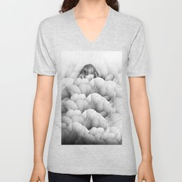 Bed of Fowers Unisex V-Neck