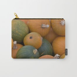 Orange and green pumpkins Carry-All Pouch