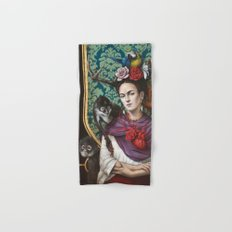 Frida kahlo Hand & Bath Towel