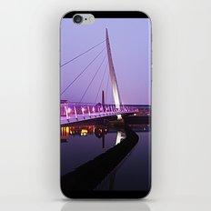 The Swansea Sail Bridge. iPhone & iPod Skin