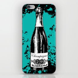 Champagne Explosion iPhone Skin