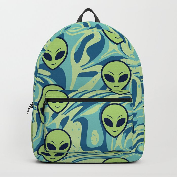 Melting Alien Backpack