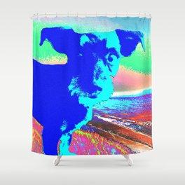 Puppy Pop Shower Curtain