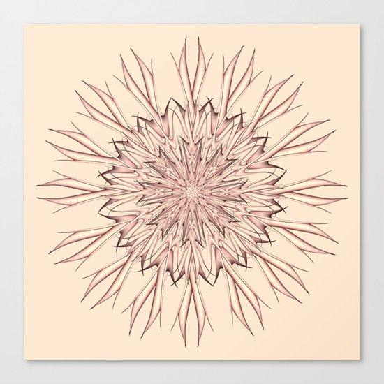 Mandala pastel Canvas Print