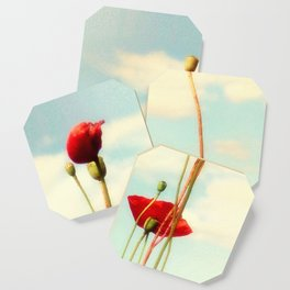 Lost Poppies Coaster