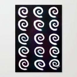 Wall Of Swirls Canvas Print