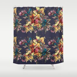 Everlasting Floral Shower Curtain