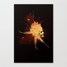 Pain Pleasure Canvas Print
