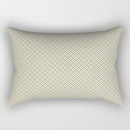 Tartan plaid diagonal pattern Rectangular Pillow