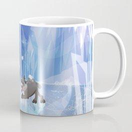 """""""Olaf and Sven on ice""""  Coffee Mug"""