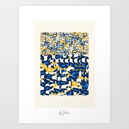 """Mirtillo"" signed Art Print"