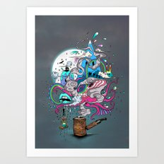 Pipe Dreams Art Print