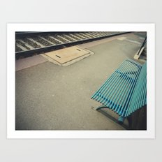 Futility: the quality of having no useful result. Art Print
