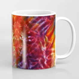 Vibrant Hippy Tye Dye Coffee Mug