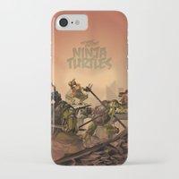 ninja turtles iPhone & iPod Cases featuring Teenage Mutant Ninja Turtles by s2lart