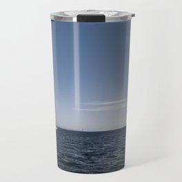Sailing in the ocean. Travel Mug