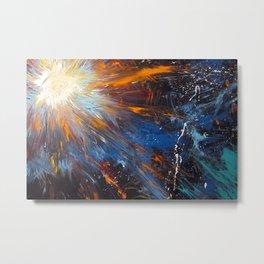Shine Christ's Light Worship Art Metal Print