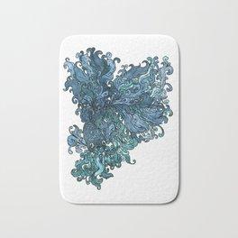 Betta Splendens - Blue Bath Mat