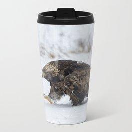 The Eagle has Landed Metal Travel Mug