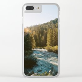 River at the Trailhead Clear iPhone Case