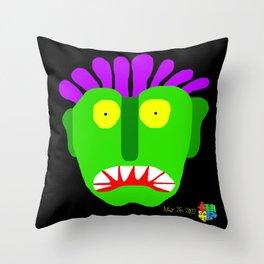 Green Man I Throw Pillow