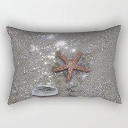 Sea Star on Bowditch Beach Rectangular Pillow