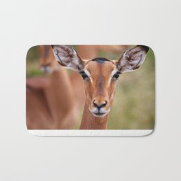 Impala in South Africa - wildlife Bath Mat