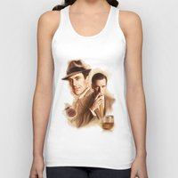 mad men Tank Tops featuring MAD MEN DON DRAPER by TOXIC RETRO