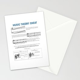 Music Theory Stationery Cards