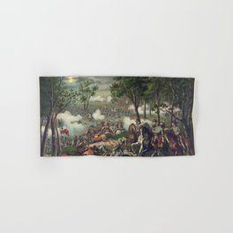 Civil War Battle of Chancellorsville April 30 to May 6, 1863 Hand & Bath Towel