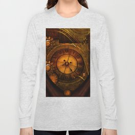 Awesome noble steampunk design Long Sleeve T-shirt