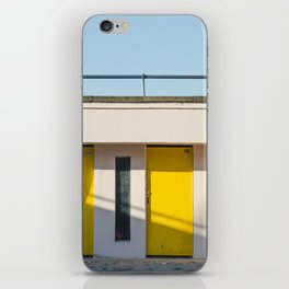 In scooter, yellow cabins iPhone Skin