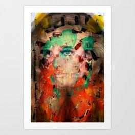 L.S.DONNA Art Print