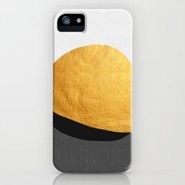 Conceptual and golden VI iPhone Case