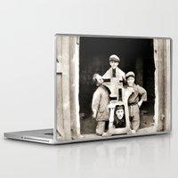 heavy metal Laptop & iPad Skins featuring Heavy Metal Boys by Wanker & Wanker
