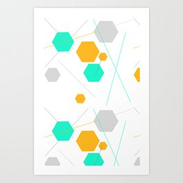 Modern Science Art Print