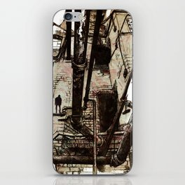 Pipes 2 iPhone Skin