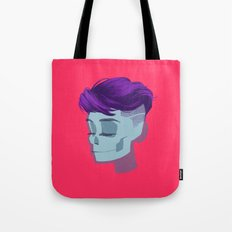 see through girl 2 Tote Bag