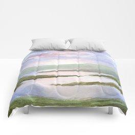 Imaginary Landscape Comforters