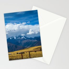 Andes Mountains Stationery Cards