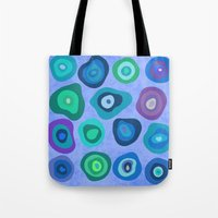 biology Tote Bags featuring CELLS by THE USUAL DESIGNERS